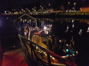 Parkeren op GOUDasfalt tijdens Gouda bij Kaarslicht @ GOUDasfalt
