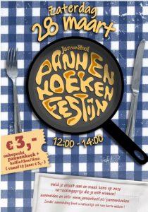 Pannenkoekenfestijn Jan van Hoof @ GOUDasfalt