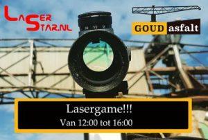 Lasergame special @ GOUDasfalt