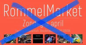 Afgelast: Rommelmarket @ GOUDasfalt