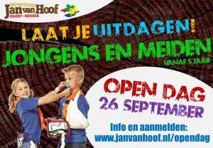 Scouting Jan van Hoof: Open Dag @ Jan van Hoof